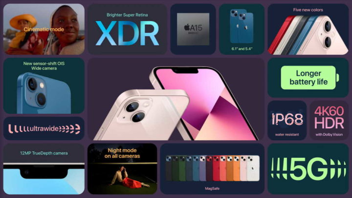 iPhone 13 mini smartphone Apple
