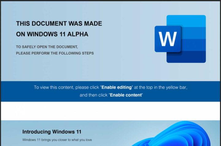 Windows 11 hackers ataques macro segurança
