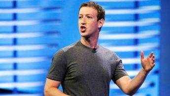 Imagem Mark Zuckerberg, CEO do Facebook