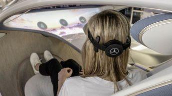 """Tecnologia de """"leitura de mentes"""" do Mercedes-Benz AVTR"""