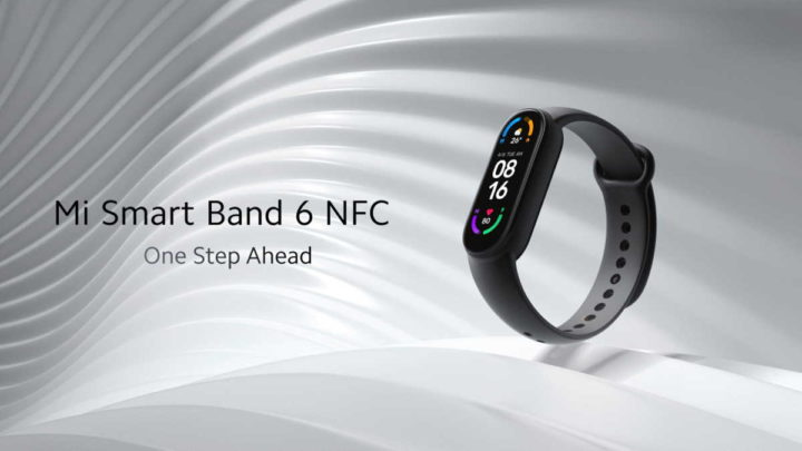 Mi Band 6 NFC Xiaomi smartband