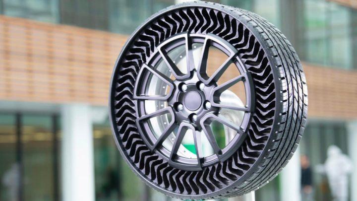 Imagem do pneu Uptis da Michelin