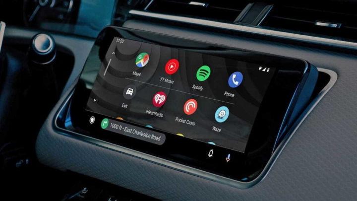Android Auto interface novidades