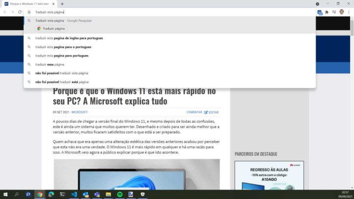 Chrome Google Ações controlar browser