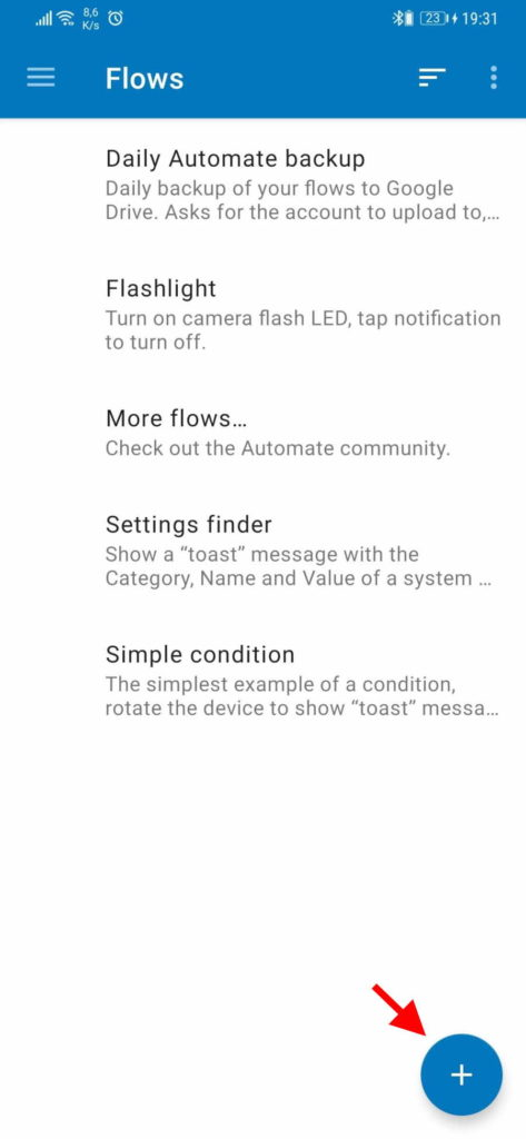 Android smartphone bateria falar carregada