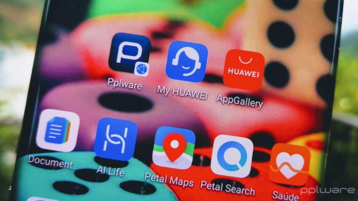 My Huawei plataforma lançamentos aplicação