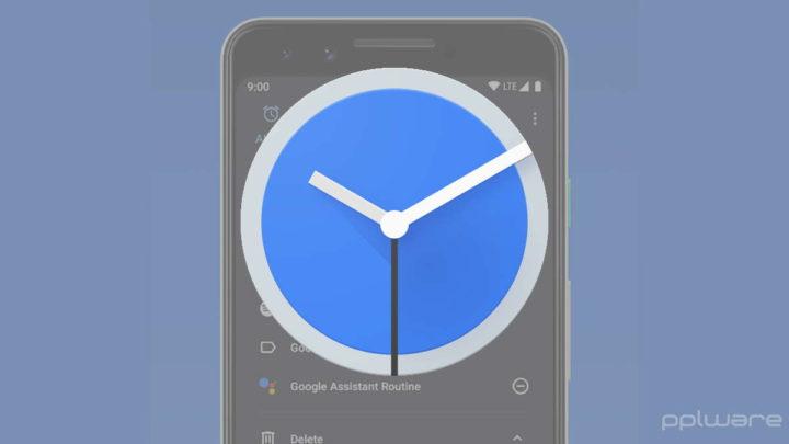 Android alarme Google relógio problema