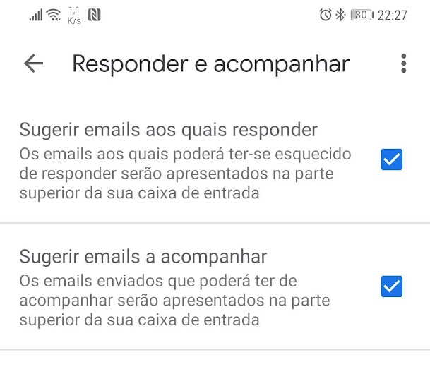 Google SMS Android mensagens