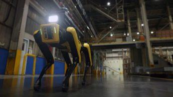 Spot, o agora cão guarda robô da Boston Dynamics