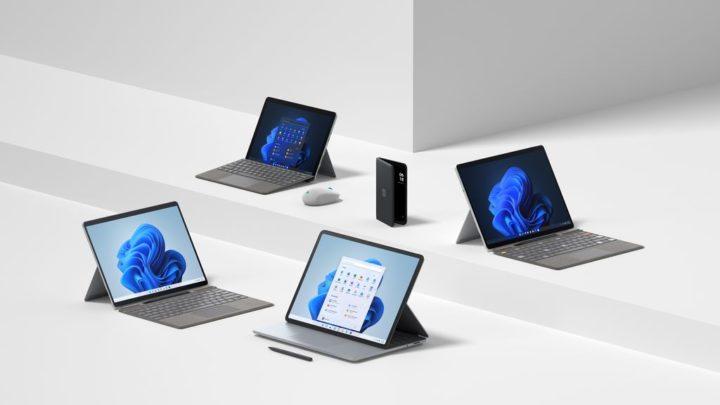 Microsoft: Há novos dispositivos Surface já preparados para o Windows 11