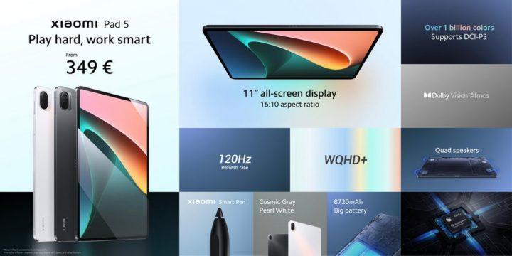 Há um novo tablet no mercado: venha conhecer o Xiaomi Pad 5