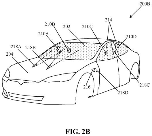 Patente para um limpa-para-brisas laser da Tesla