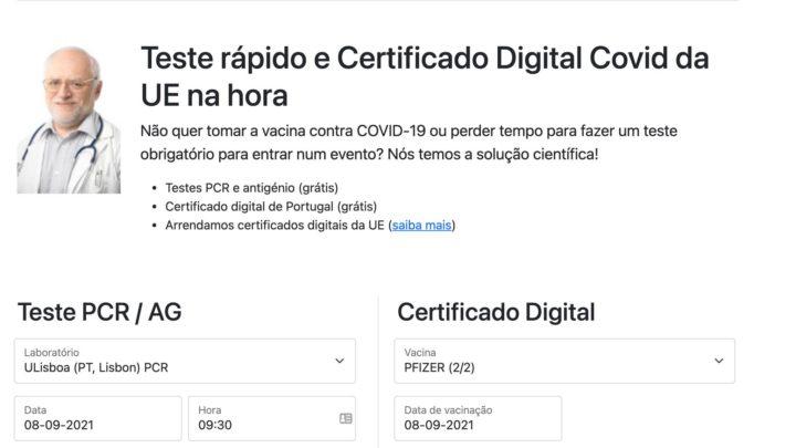 Alerta: Há sites portugueses a vender certificados da COVID-19 ilegais