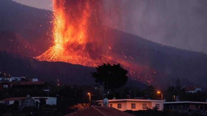Cone do vulcão Cumbre Vieja colapsou parcialmente