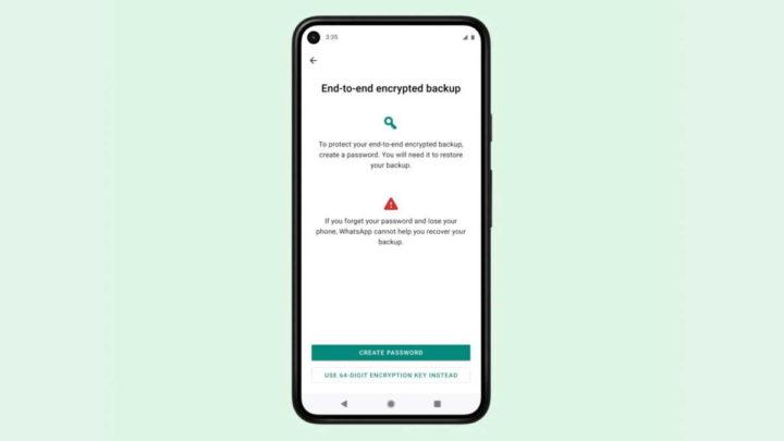 WhatsApp segurança cifrados backups mensagens