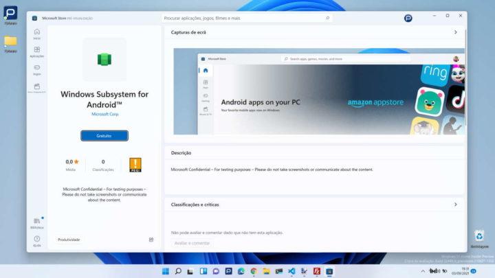 Tienda de aplicaciones de Android Microsoft Windows 11