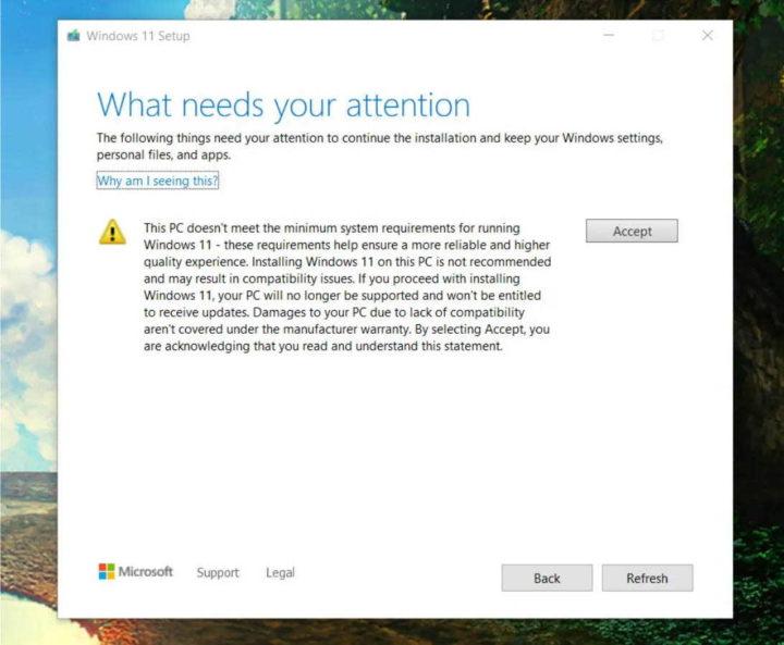 Windows 11 Microsoft PC requisitos garantia