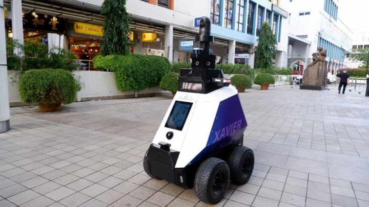 Xavier, o robô que vai patrulhar as ruas de Singapura