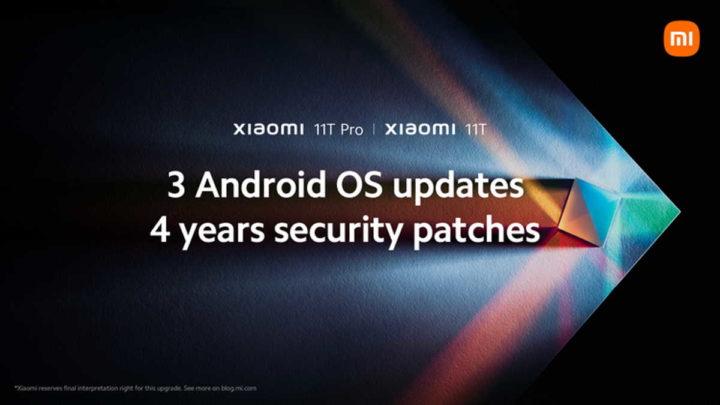 Xiaomi 11T atualizações smartphones novidades