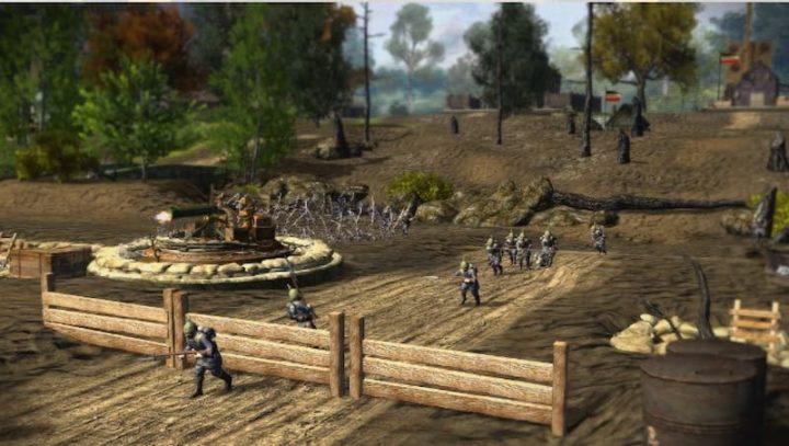 """A arte da """"Guerra a Brincar"""" de Toy Soldiers HD"""