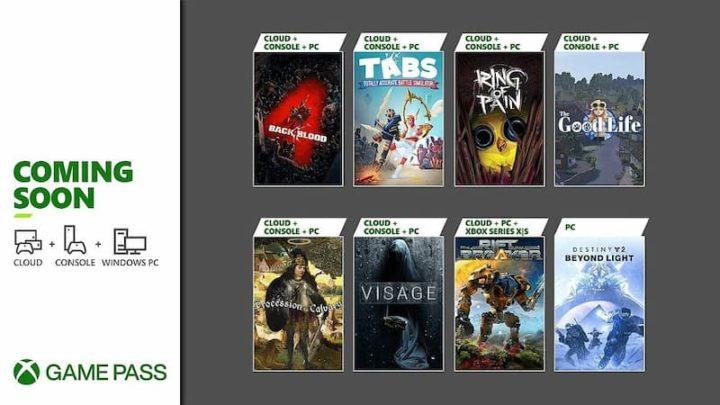Xbox revela entradas de outubro no Xbox Game Pass