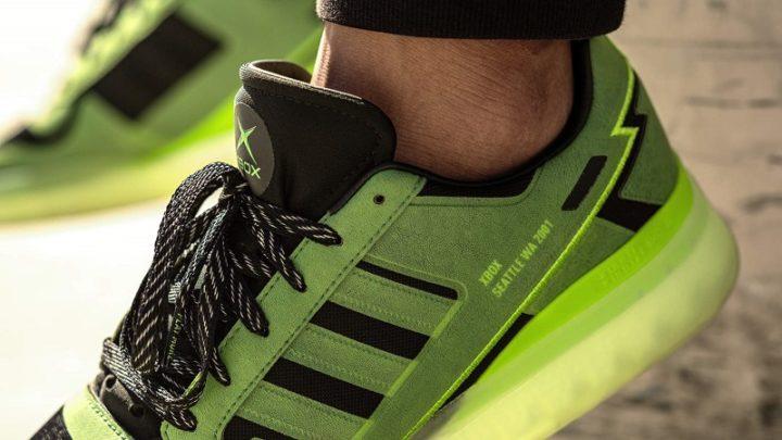 Adidas lança par de ténis inspirados na Xbox original da Microsoft