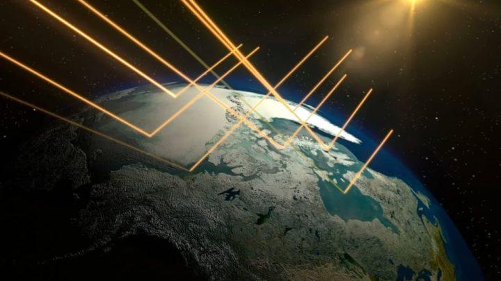 Ilustração Albedo da Terra, o brilho está-se a perder por causa dos efeitos climáticos