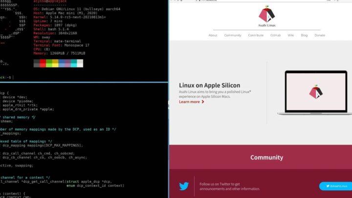 """Macs com chip M1 já correm Linux com """"desktop básico"""""""