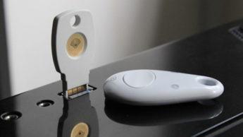 Imagem Chave de Segurança Titan da Google