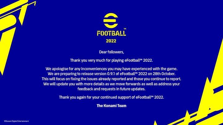 Konami vai corrigir os erros do jogo eFootball 2022 depois do lançamento desastroso