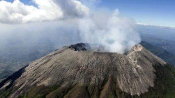 Vulcão em El Salvador