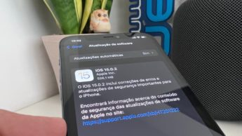 Imagem iOS 15.0.2 no iPhone 12 Pro