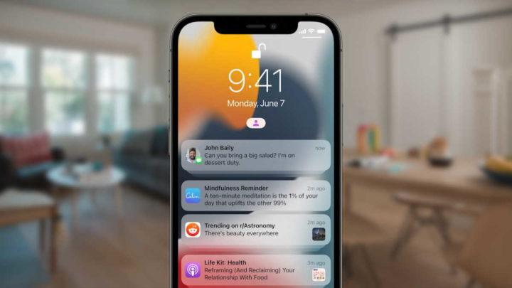 iOS 15 Mensagens imagens Apple iCloud