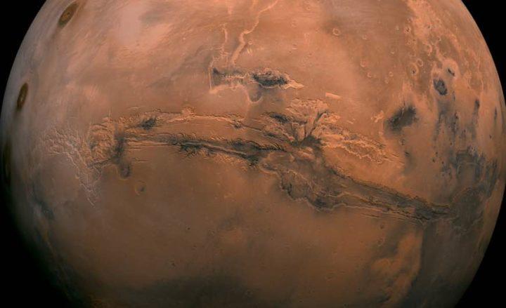 Sonda mostra altas concentrações de oxigénio na atmosfera de Marte