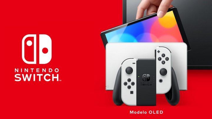 Nintendo Switch OLED traz película de ecrã que não deve ser removida