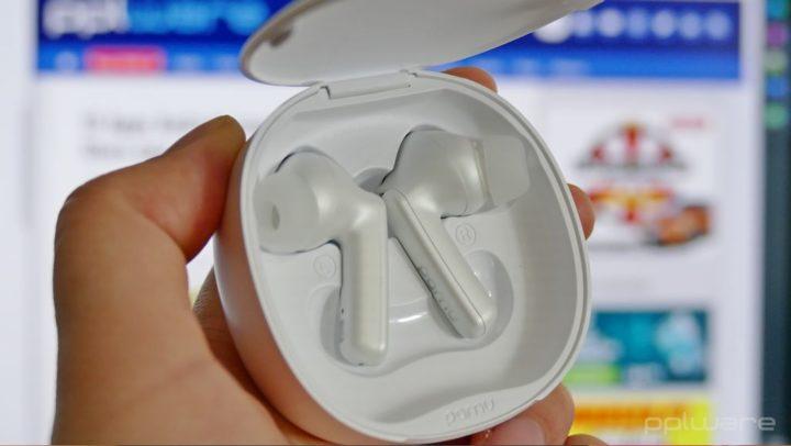 earbuds PaMu Quite Mini com ANC e carregamento sem fios