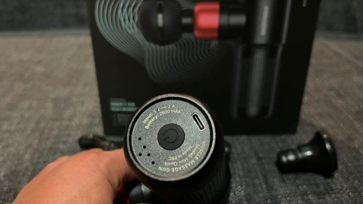 Mini Quaik - A Pistola de Massagem Muscular que precisa