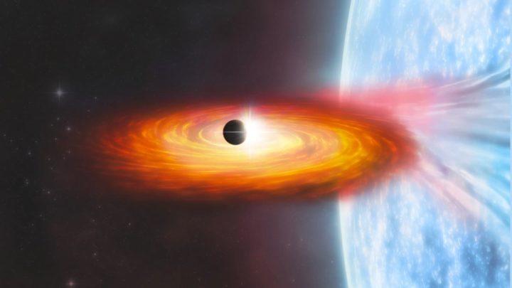 Ilustração da NASA do planeta fora do da nossa galáxia