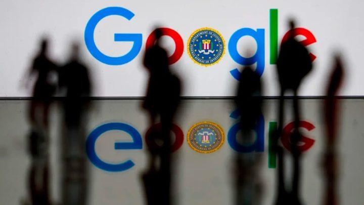 Ilustração pesquisas Google entregues à polícia