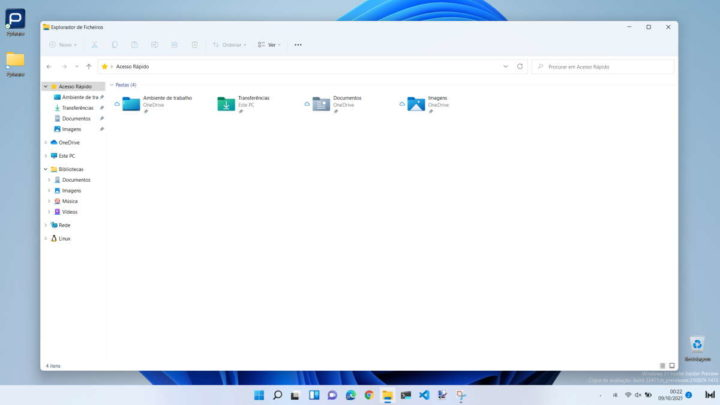 Windows 11 Microsoft explorador ficheiros problema