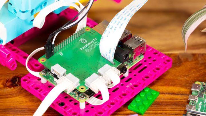 Robôs da LEGO passam a poder ser controlados pelo Raspberry Pi