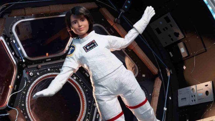 Barbie astronauta de Samantha Cristoforetti