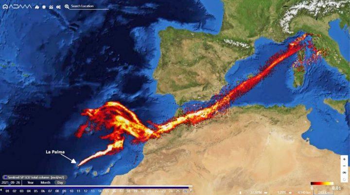 Cumbre Vieja: imagens de satélite ajudam a entender a erupção do vulcão de La Palma
