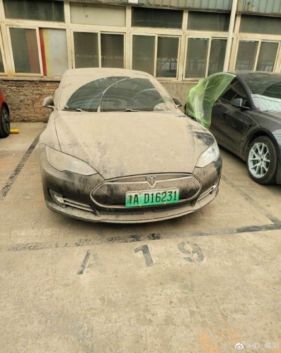 Tesla Model S de Han Chao