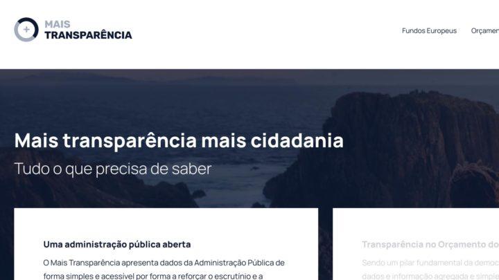 Portal Mais Transparência passa a ter informação sobre fundos do PRR