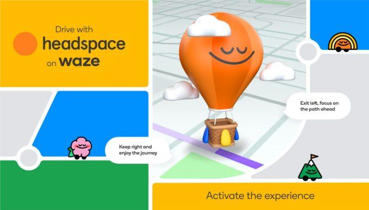Waze vai proporcionar-lhe viagens mais relaxantes com o Headspace