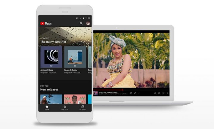¡finalmente!  YouTube Music reproducirá música de fondo de forma gratuita