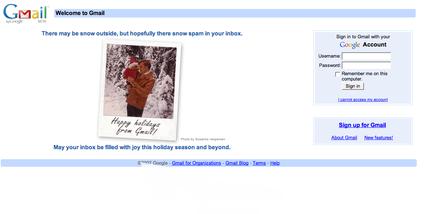 Gmail de Natal
